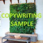 image: writing sample
